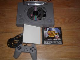 Puikios būklės Sony Playstation 1+žaidimas Gta