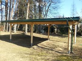 Karkasinė statyba, medinės terasos, tvoros ir kt. - nuotraukos Nr. 9