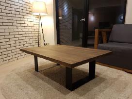 Naujas modernus kavos staliukas (ąžuolas)