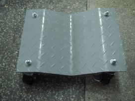 Automobilio vežimėlis vežimėliai perstumti automob