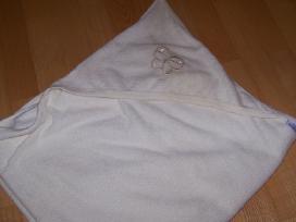 Baby Matex rankšluostis su gobtuvu.