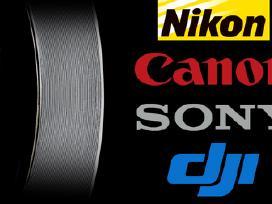 Foto - video - audio - 360 įranga