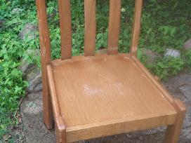 6 ąžuolinės kėdės - nuotraukos Nr. 3