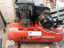 Oro kompresorius resiverio talpa 270 litru