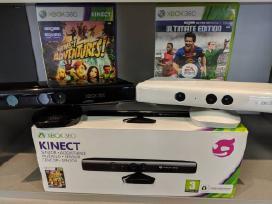 Akcija ! Kinect + 2 žaidimai tik 29 Eur