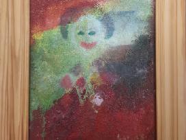 """Luana Stebulė """"Juokdarys"""", 2003m, paveikslas"""