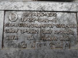 Transformatoriai ( latrai ), reostatas рб-302 у2. - nuotraukos Nr. 7