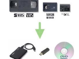 Video kasečių perrašymas į skaitmeninį formatą
