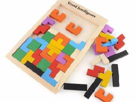 Puzzle medinė - lavinamoji dėlionė