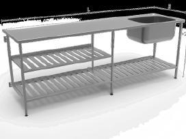Nerūdijančio Plieno Stalai pagal poreikius - nuotraukos Nr. 14