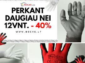 Pirštinės - 40% išparduodame