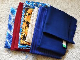 Kokybiški audiniai medžiagų likučiai siuvimui