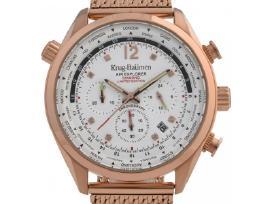 Naujas Krug Baumen laikrodis su deimantais