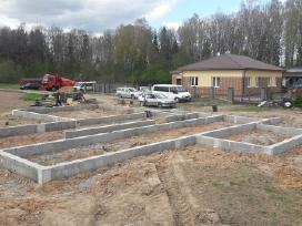 Pamatai,tvoros ir visi betonavimo darbai. Cfa. - nuotraukos Nr. 4