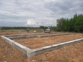 Pamatai,tvoros ir visi betonavimo darbai. Cfa. - nuotraukos Nr. 7