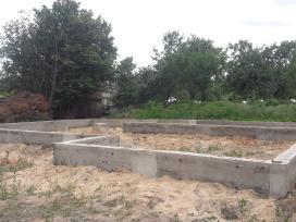 Pamatai,tvoros ir visi betonavimo darbai. Cfa. - nuotraukos Nr. 22