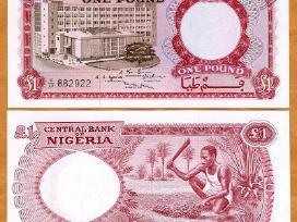 Nigerija 1 Pound 1967m. P8 Unc