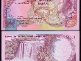 San Tomė ir Prinsipė 500 Dobras 1993m. P63 Unc