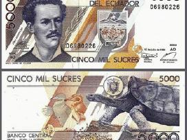 Ekvadoras 5000 Sucres 1999m. P128 Unc