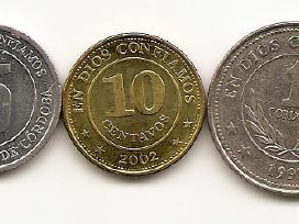 Nikaragvos monetos