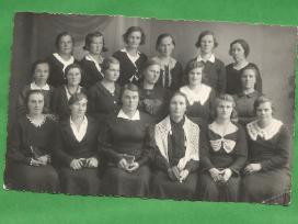 Foto - Biržai. Moterys - aktyvistės. Iki 1940m.