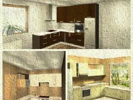 Virtuves baldų,spintų gamyba