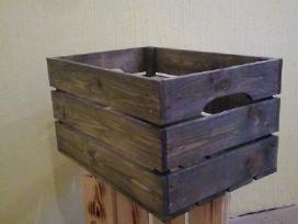 Medinės dėžės- dėžutės