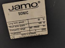 Daniškos Jamo Sonic 50w kolonėlės ir JVC centras - nuotraukos Nr. 2