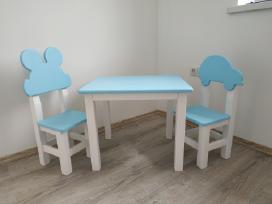 Vaikiška kėdutė su staliuku