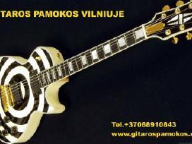 Gitaros pamokos Vilniuje + dovanų kuponas