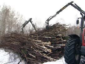 Perkame Įv. Medienos Žaliavą Biokuro Gamybai