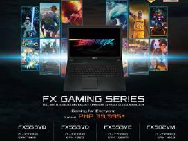 Asus Fx Series (Gaming) notebookas