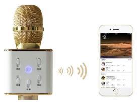 Bluetooth Karaokė mikrofonas - kolonėlė - nuotraukos Nr. 4