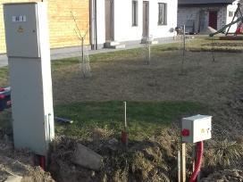 Elektros tinklo įrengimas. Elektrikas Kaunas