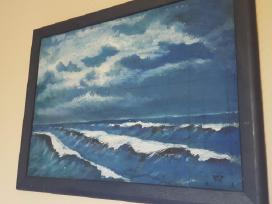 """Paveikslas """"Šėlstanti jūra"""""""