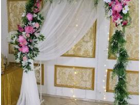 Arka vestuvėms,dekoracijos