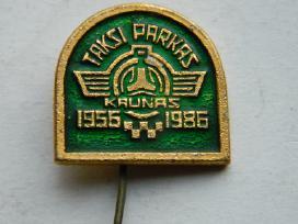 1956-1986 Kauno taksi parkas