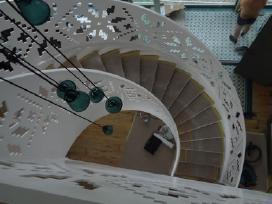 Laiptai, - Projektavimas / Gamyba / Montavimas - nuotraukos Nr. 11