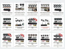 Vaizdo stebėjimo sistema 2, 4, 8 kamerų HD