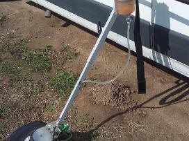 Rankinis herbicidų purkšuvas