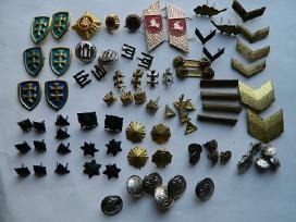 Lietuvos kariuomen atributika,kolekcijai papildyti