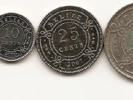 Belizo monetu rinkinukas