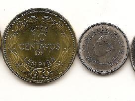Honduro monetu rinkinukas