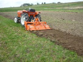 Arimas, žemės frezavimas, žolės pjovimas