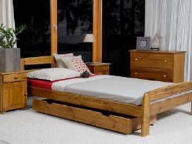 Akcija! Medinės lovos,aloe vera čiužiniai nuo 40€