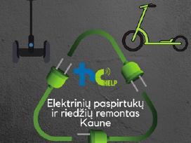 Elektrinių paspirtukų ir riedžių remontas Kaune