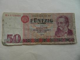 Ddr 50 Markiu 1971 m.