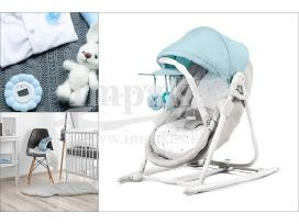 """Supamasis lopšys-kėdutė kūdikiui """"Kinderkraft"""" 89€"""