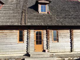 Parduodu rąstinį namą nusikėlimui Klaipėdos raj.