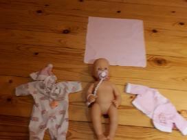 Žaisline lelė su priedais ir rūbais